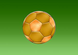 background, green, the ball