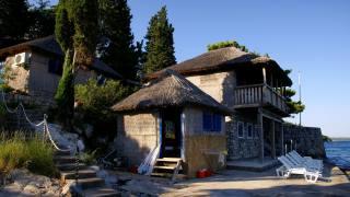 dům, zámek, фасад.море
