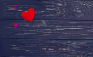 wood, hearts, background