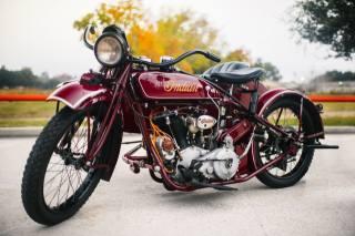 indian, Big Chief, 1923, motorcycle, Стива Маккуина