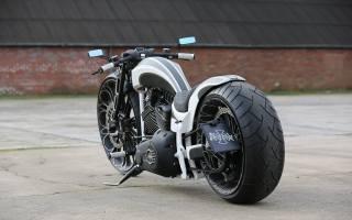 Harley Davidson, custom, Thunderbike, Softail, tb-r