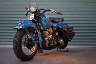 Harley Davidson, motorcycle, the bike, 1948