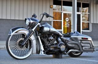 HARLEY-DAVIDSON, Road King, custom, motorcycle, AIRBRUSH