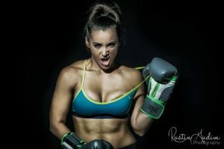 girl, Pro photo, Boxing, gloves