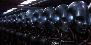 я робот, фильм, роботы, лица