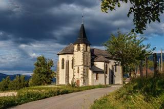kostel, Francie, Saint Pierre d Alvey, Savoie, příroda