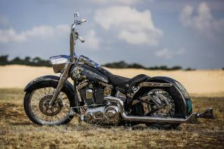 HARLEY-DAVIDSON, Thunderbike, El Gringo, custom, motorcycle