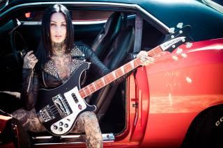 Femke Fatale, inkedgirl, kytara, hudba
