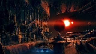 Космоскосмическая станция, planet, научная фантастика