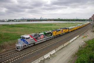 lokomotiva, složení, перегон, příroda, horizont, město