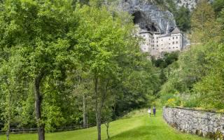 mountains, Park, предъямски замок, Slovenia