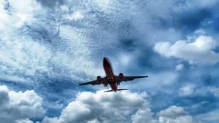 letadlo, nebe, let
