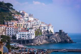 Itálie, městečko