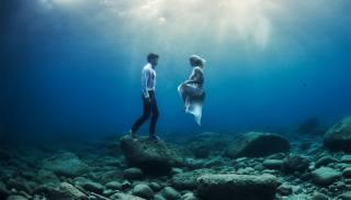 люди, під водою