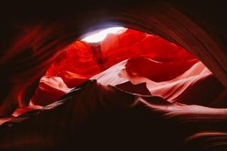 скалы, каньон, каньон Антилопы, Штат аризона, скалы, каньон, каньон антилопы, Аризона