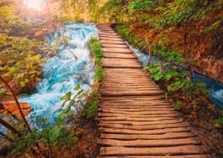 Плитвицкие, озера, Національний парк, осінь