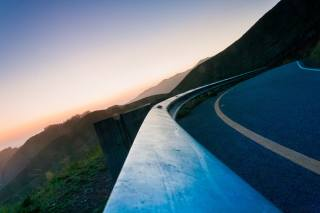 road, mountains, nature, serpentine