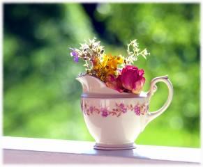 flowers, Items, bokeh