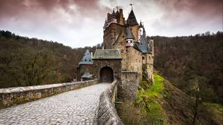Germany, castle, autumn, Eltz, castle, Rhineland-Palatinate