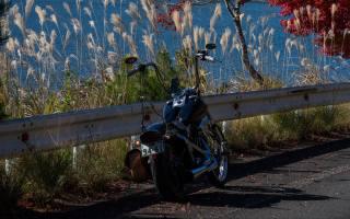 мотоцикл, байк, ЧОППЕР, черный
