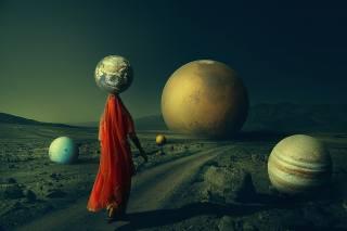 планеты, женщина, фэнтези