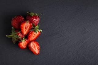 полуниця, ягоди, фон