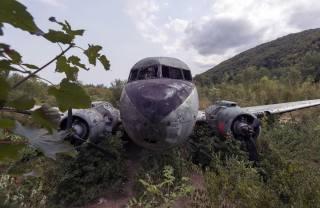 KEŘE, letadlo, šrot