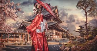 Japonsko, gejša