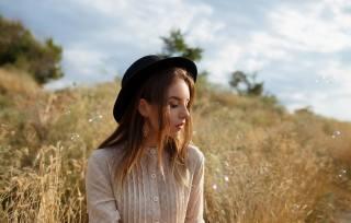 girl, portrait, in nature, photo, Anton Papalutsa
