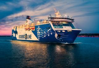 výletní loď, plavba, večer