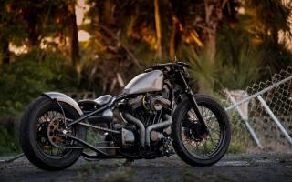 Harley Davidson, митниця, Thunderbike