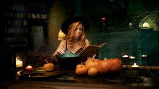 girl, witch, колдовство, candle