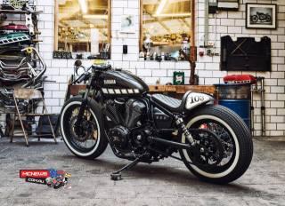 yamaha, XV950, мотоцикл, гараж