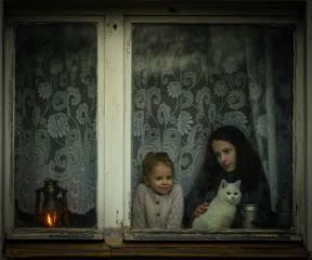 Radoslaw Dranikowski, děti, в окне