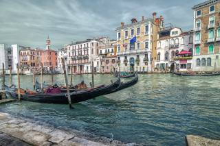 Venice, channel, panorama