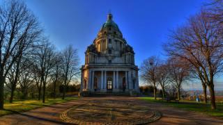 Park, England, spring, england, Williamson Park, Ashton Memorial