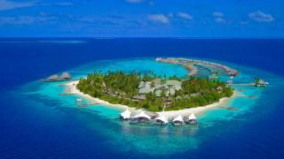 остров, океан, Мальдивы