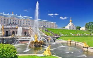 Petersburg, Peterhof, fountains, summer, beauty