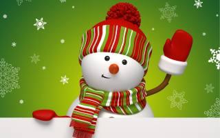 sněhulák, празник, sněhové vločky