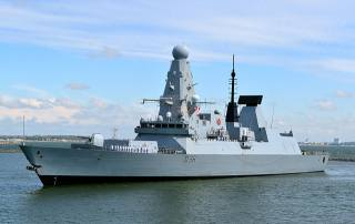 HMS Defender, есмінець, Англія