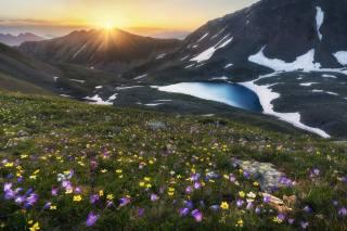 the lake, gorge, photo, Михаил Туркеев
