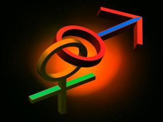 початок, женское, мужское, символи, фантазія, фон