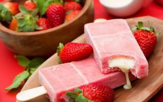 berries, strawberry, ice cream, fresh, dessert, sweet, Sweet, dessert