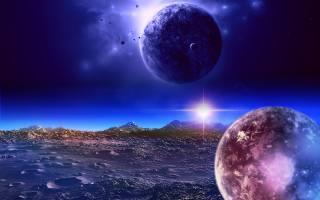 planet, space, fantasy