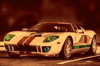 Ford, art, Auto