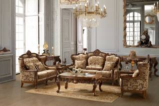 sofas, furniture, chandelier, table, glasses, watch, mirror, lamp, carpet