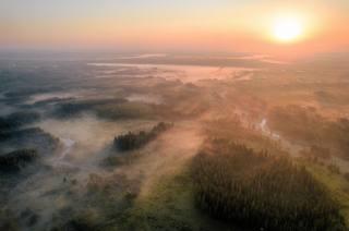 высота, пейзаж, восход