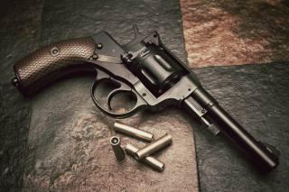 Наган, револьвер, патрони