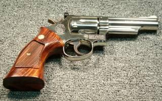 smith wesson, револьвер, фон