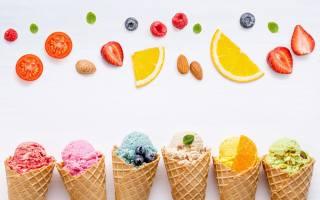 ягоди, барвисті, морозиво, фрукти, ріжок, Фрукти, ягоди, лід, Крем, cone
